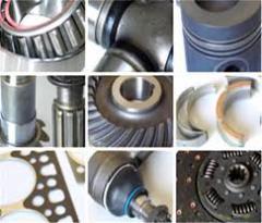 Rolamentos para máquinas e motores.