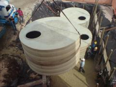 Reservatório tipo Cisterna para aterro