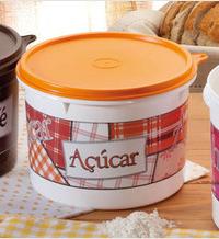 Caixa para açúcar 1kg - protege o açúcar das