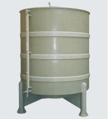 Tanque cilíndrico de 3.000 litros - sendo o mesmo