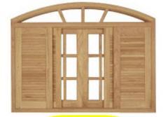 Esquadria de madeira
