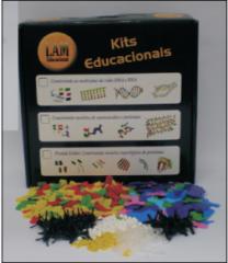 Kit construindo modelos de aminoácidos e proteínas