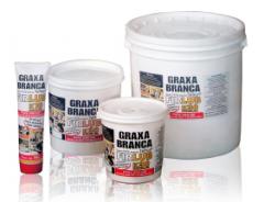 Graxa branca - formuladas à base de PTFE e