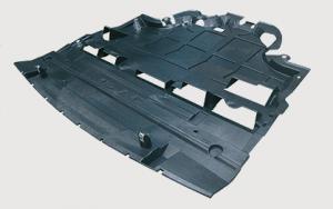 Placa de proteção do motor - o resfriamento do