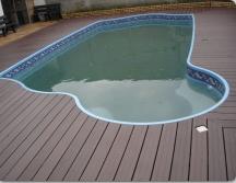 Deck's para piscinas - não racha, não solta