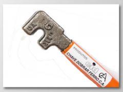 Chaves para dobrar Ferro CA