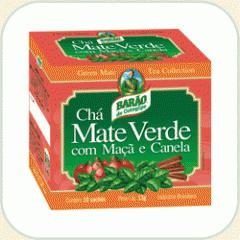 Chá Mate Verde com Maçã e Canela