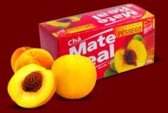 Chá Mate Pessego
