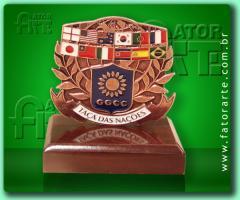 Medalhão de mesa personalizado