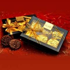 Caixa de Biscoitos cobertos com Chocolate Icab