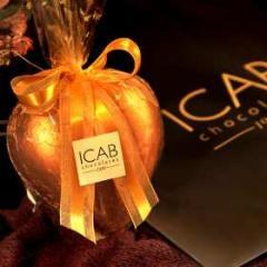 Coração de Chocolate Diet Icab 100gr