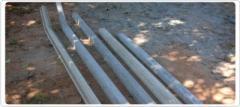 Mourão de concreto reto 2,50m e alambrado 3,00m