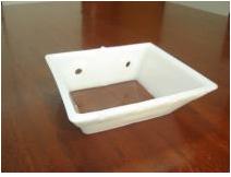 Caçambas plásticas vazadas - produzidas em