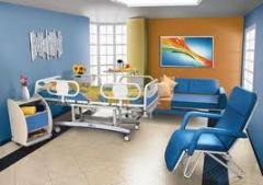 Mobiliário para hospitais