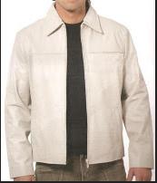 Kaban masculino em couro legítimo super macio,