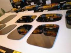 Vidros para retrovisor de automóveis.