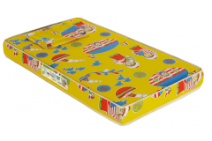 Colchoes Baby Luxo D-20 Amarelo