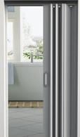 Portas sanfonadas em PVC - portas premier da