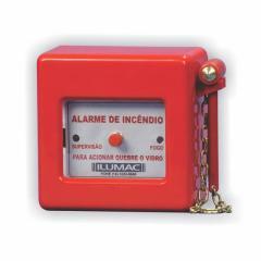 Acionador manual convencional de alarme - AM-C