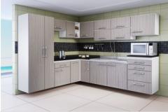 Cozinha Vitta -  lançamento Novo Padrão Madeirado: