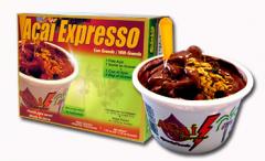 Sorbet Açaí Expresso é um produto diferente, com sabor e textura muito superior