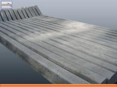 Mourões pré-moldados de concreto
