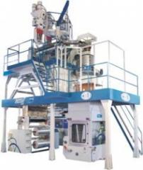 Máquina Extrusora para reciclagem tubular.