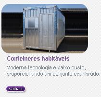 Contêiner habitaveis