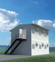 Módulos Metálicos Habitacionais Termoacústicos