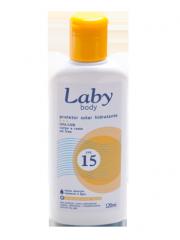 Protetor Solar Laby Body FPS 15