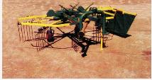 Ancinho Enleirador AF320/8 da Agroforn , permite