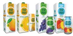 Fast Fruit é uma linha de sucos tropicais e