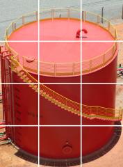 Reservatórios de grande capacidade pré montados em