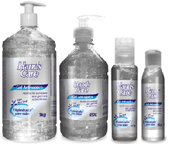 Gel Anti-Sépticos Hands Care