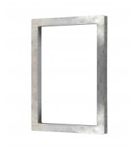 Quadro de serigrafia - quadro de alumínio produzido com perfil sob medida, com ou sem acessórios para encaixe.