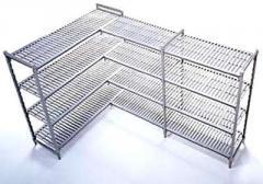 Estantes de Aço ou PVC
