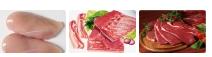 Carne Bovina, Ave, Suína