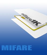 Cartão ISO Mifare em PVC