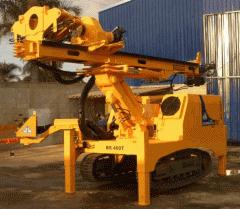 Máquina perfuratriz BS 400 T -  elaborada para