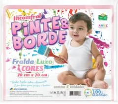 FRALDA LUXO PINTE&BORDE CORES