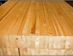Vigas de madeira (pinus) duas ou três camadas: