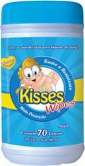 Lenços Umedecidos Kisses