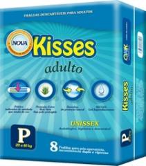 Fraldas Kisses Adulto