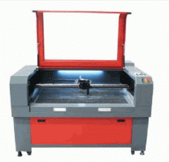 Máquina de corte e gravação laser sunset 100x60  -