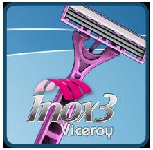 Aparelho de barbear Inox 3 Viceroy
