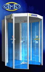 Porta Giratória com Detector de Metais GMD