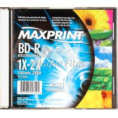 Discos Blu-Ray Regravável Maxprint