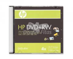Discos DVD+RW HP