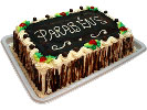 Torta Retangular de chocolate