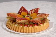 Torta de Frutas (Sazonal)